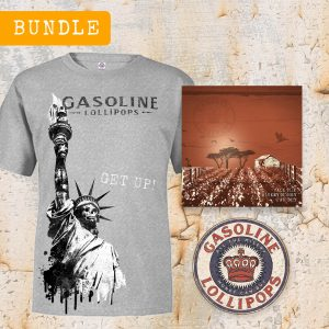 New Album Bundle / Tee, CD, & Sticker